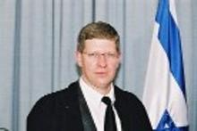 """השופט דורון פורת מבימ""""ש השלום בטבריה מונה לנשיא בתי משפט השלום בצפון"""