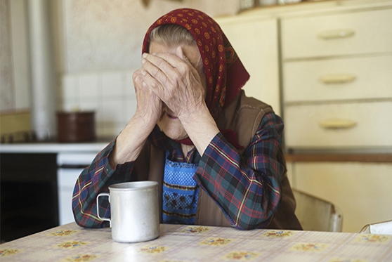 """מחשש לניצול ע""""י קרובי משפחה: ביהמ""""ש ביטל את צוואתה של קשישה , צילום: getty images israel"""
