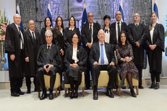 10 שופטים חדשים הושבעו בטקס חגיגי בבית נשיא המדינה
