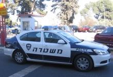 רכב משטרה. צילום: גלר