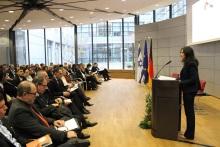 איילת שקד בכנס בברלין. צילום: לשכת שרת המשפטים