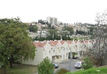 תמונת נוף מגבעת שרת כלפי בית שמש. צילום: חיים בוזנה