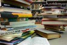 ספרים בספריה. צילום: סנה פסקין