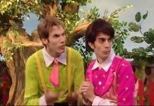 הנתבעים, פנצ'ר וצ'ופצ'יק. צילום מסך מתוך אתר youtube