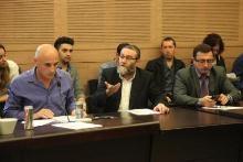 דיון בוועדה לשוויון בנטל בראשות איילת שקד, 10.2.14. צילום: דוברות הכנסת