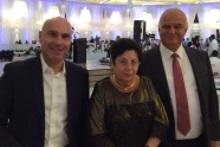 אפי נוה (משמאל), מרים נאור וחאלד זועבי. צילום: לשכת עורכי הדין
