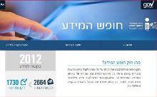 אתר חופש המידע. צילום מסך