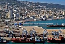 נמל חיפה. צילום: Zvi Roger