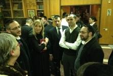 """עורכי דין חרדים במפגש עם עו""""ד אמי פלמור. צילום: דוברות משרד המשפטים"""