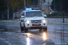 שלג. צילום: חטיבת דובר המשטרה